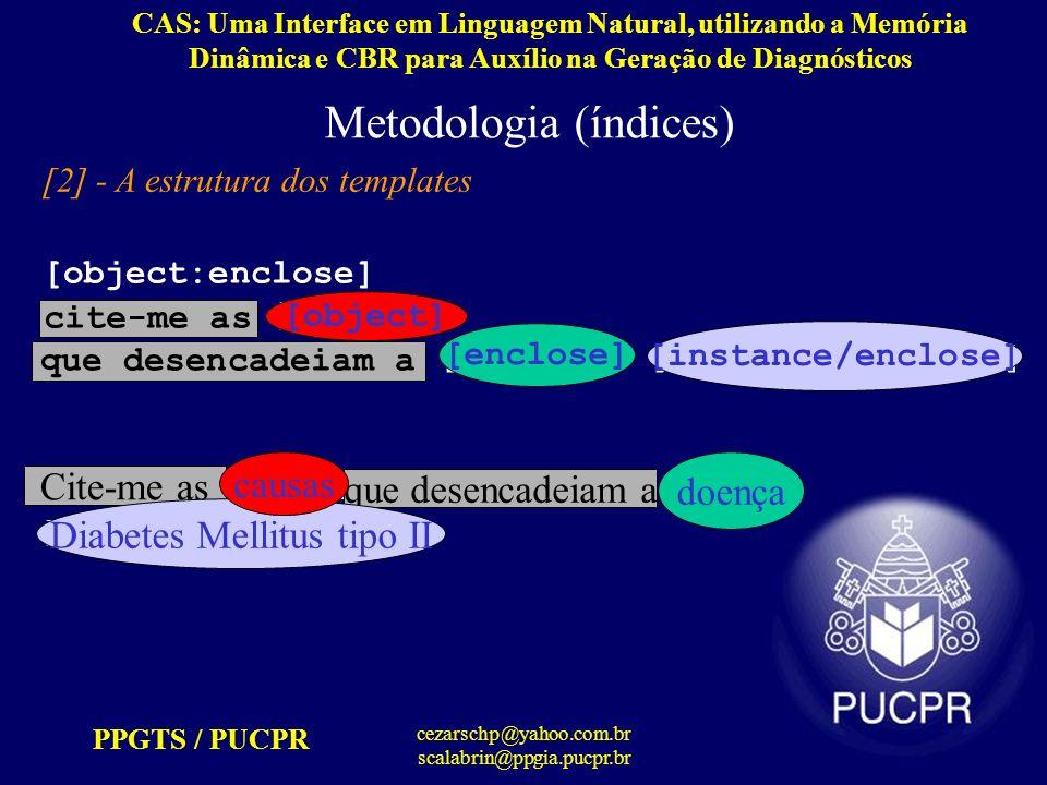 PPGTS / PUCPR cezarschp@yahoo.com.br scalabrin@ppgia.pucpr.br [object:enclose] cite-me as [object] que desencadeiam a [enclose] [instance/enclose] Cit