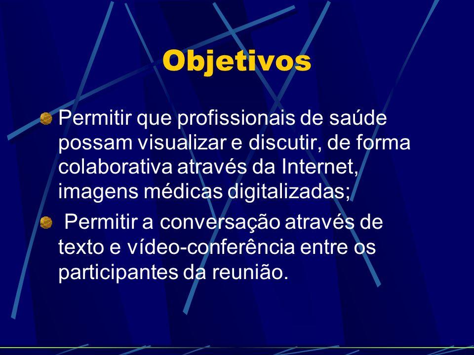 Implementação – Vídeo- Conferência O módulo de vídeo-conferência utiliza qualquer webcam e microfone devidamente instalados no Sistema Operacional utilizado.
