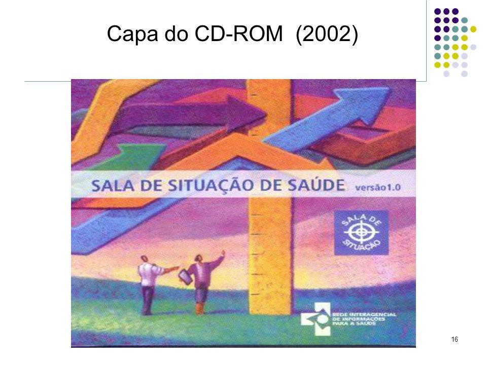 16 Capa do CD-ROM (2002)