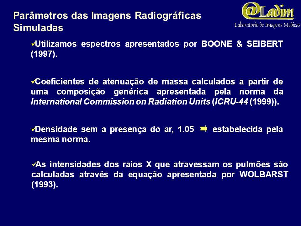Resultados Simulações contemplando a traquéia; brônquios principais, lobares e segmentares; bronquíolos terminais e respiratórios. (a) obtido com as d