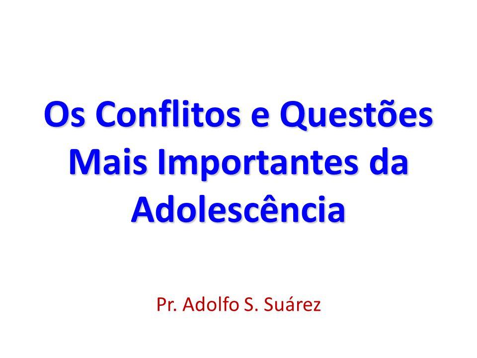 Conflitos e Questões Mais Importantes da Adolescência