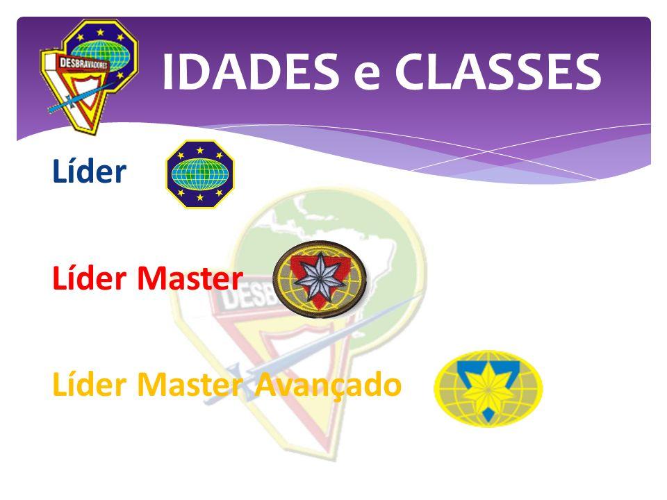 Líder Líder Master Líder Master Avançado IDADES e CLASSES