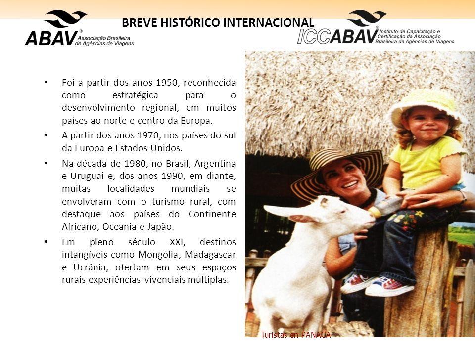 BREVE HISTÓRICO INTERNACIONAL Foi a partir dos anos 1950, reconhecida como estratégica para o desenvolvimento regional, em muitos países ao norte e ce