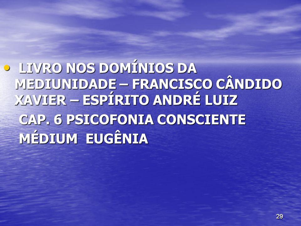 29 LIVRO NOS DOMÍNIOS DA MEDIUNIDADE – FRANCISCO CÂNDIDO XAVIER – ESPÍRITO ANDRÉ LUIZ LIVRO NOS DOMÍNIOS DA MEDIUNIDADE – FRANCISCO CÂNDIDO XAVIER – E