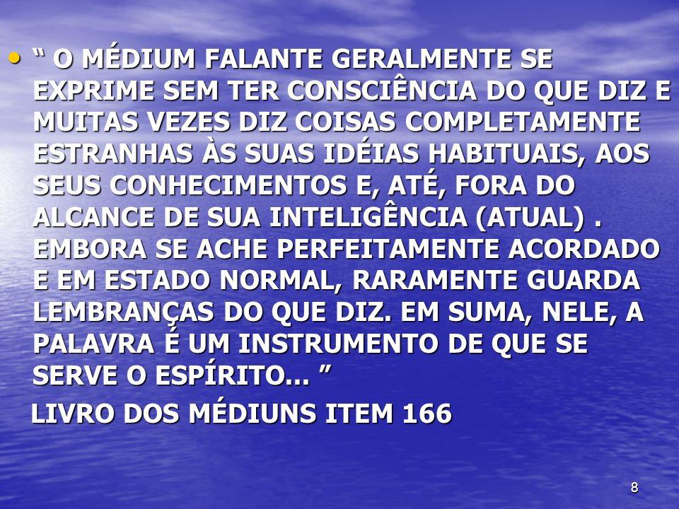 9 1- PSICOFONIA SONAMBÚLICA OU INCONSCIENTE 1- PSICOFONIA SONAMBÚLICA OU INCONSCIENTE