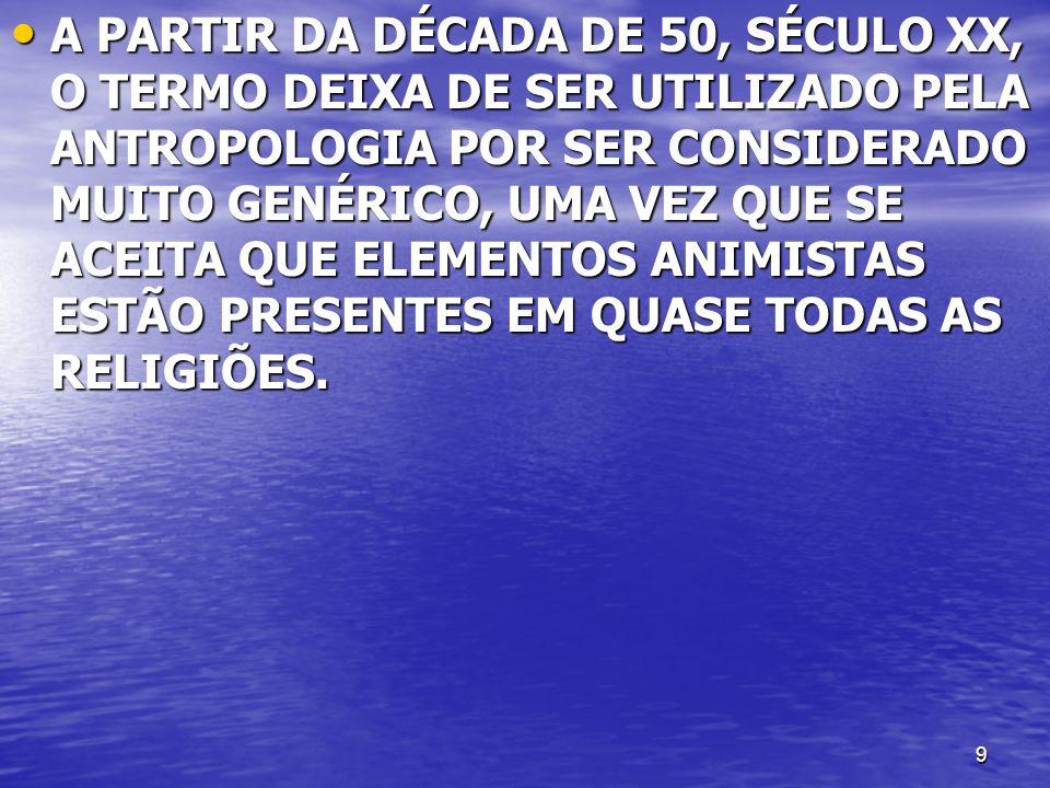 10 ANIMISMO [do latim anima + -ismo] – ANIMISMO [do latim anima + -ismo] – 1.