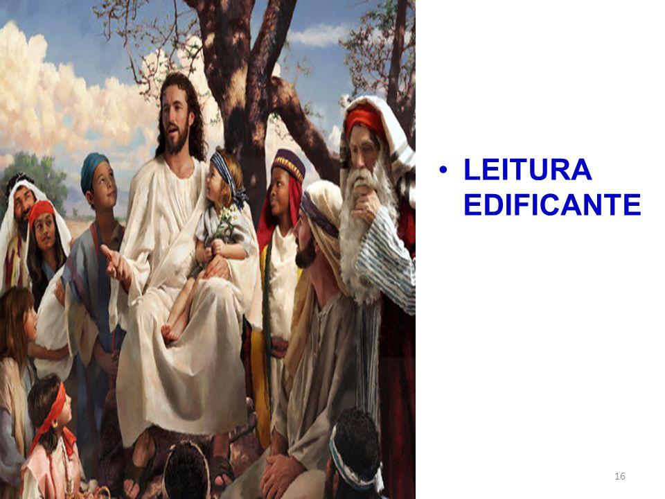 LEITURA EDIFICANTE 16