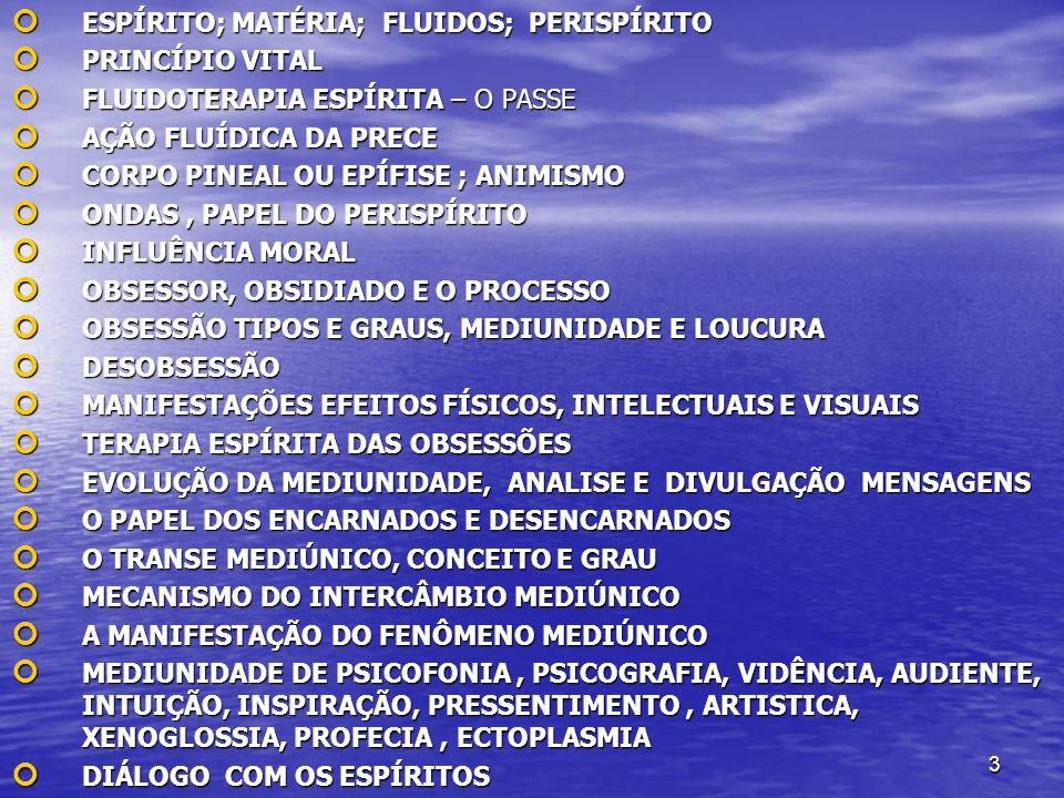 14 CONHECE / OU NÃO SOBRE COMUNICABILIDADE DOS ESPÍRITOS CONHECE / OU NÃO SOBRE COMUNICABILIDADE DOS ESPÍRITOS SABE / OU NÃO DAS RESPONSABILIDADES PERANTE AS LEIS SABE / OU NÃO DAS RESPONSABILIDADES PERANTE AS LEIS TEM CONHECIMENTO NA ÁREA FILOSÓFICA TEM CONHECIMENTO NA ÁREA FILOSÓFICA ESTADO FIXAÇÃO, ÓDIO, VINGANÇA, TRAIÇÃO, PRISÃO, DOENÇA, DOR...