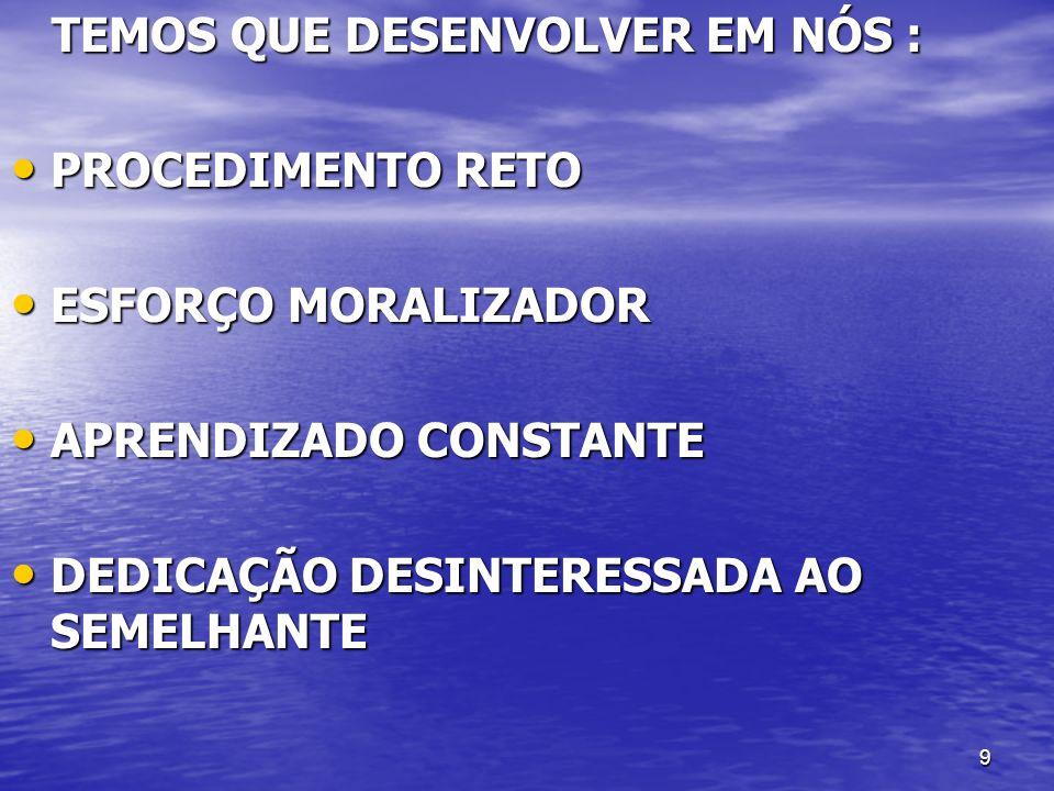 10...HÁ ALGUNS PROBLEMAS LIGADOS À FREQÜÊNCIA DE TRABALHOS MEDIÚNICOS....
