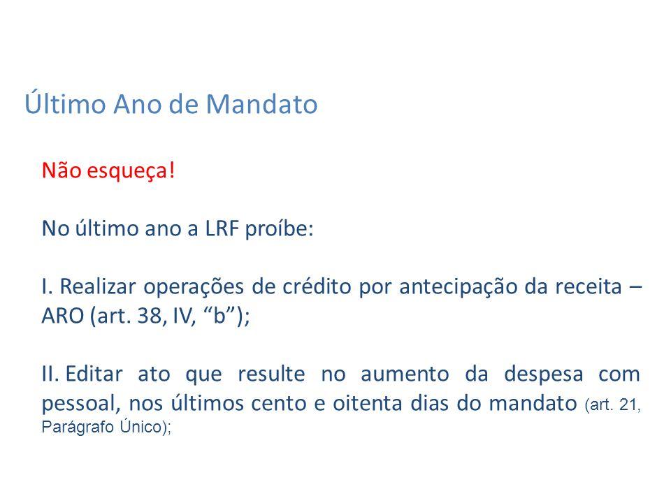 LRF Parágrafo único.