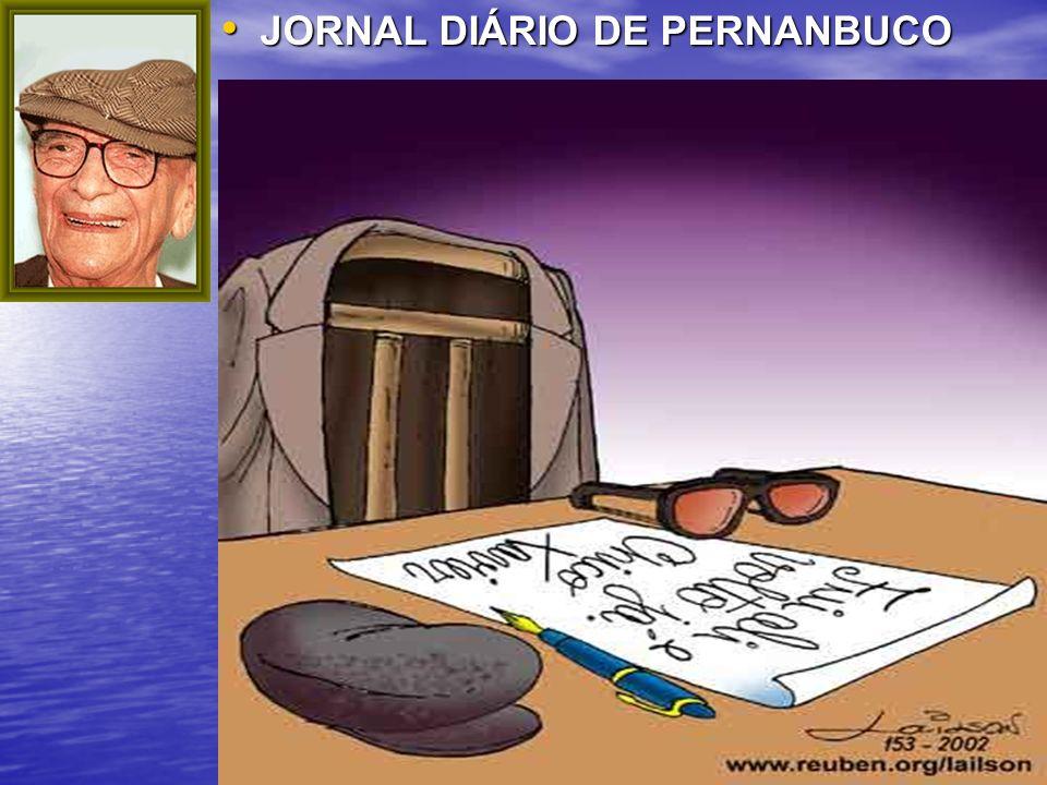 4 JORNAL DIÁRIO DE PERNANBUCO JORNAL DIÁRIO DE PERNANBUCO