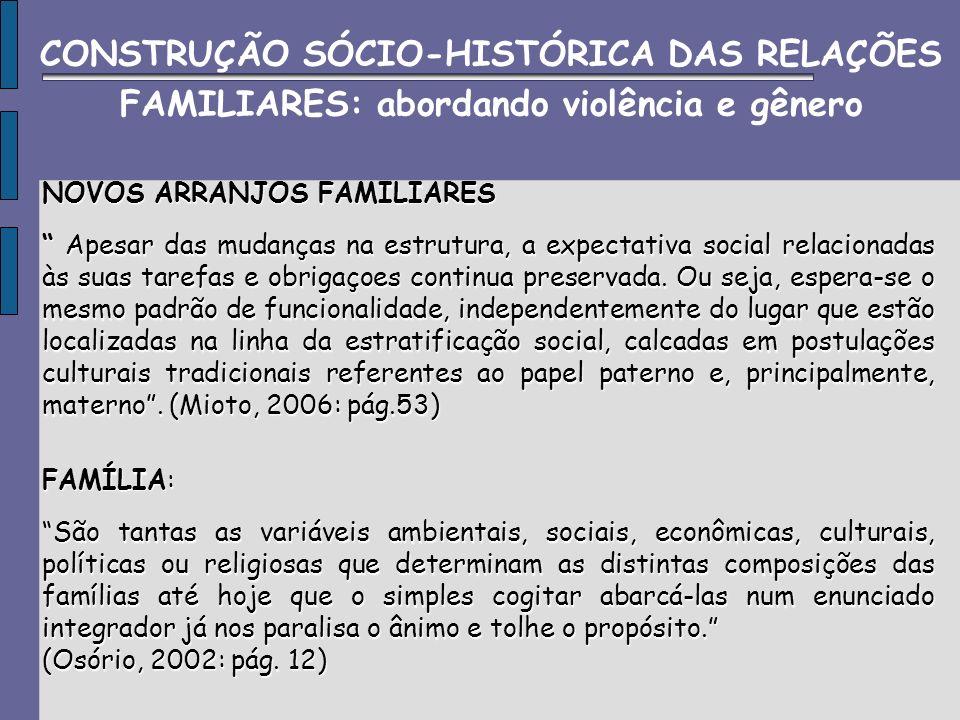 Violência INTRAFAMILIAR: determinadas pelas relações de proximidade e/ou parentesco entre as vitimas e o compartilhamento de um mesmo ambiente entre os mesmos.