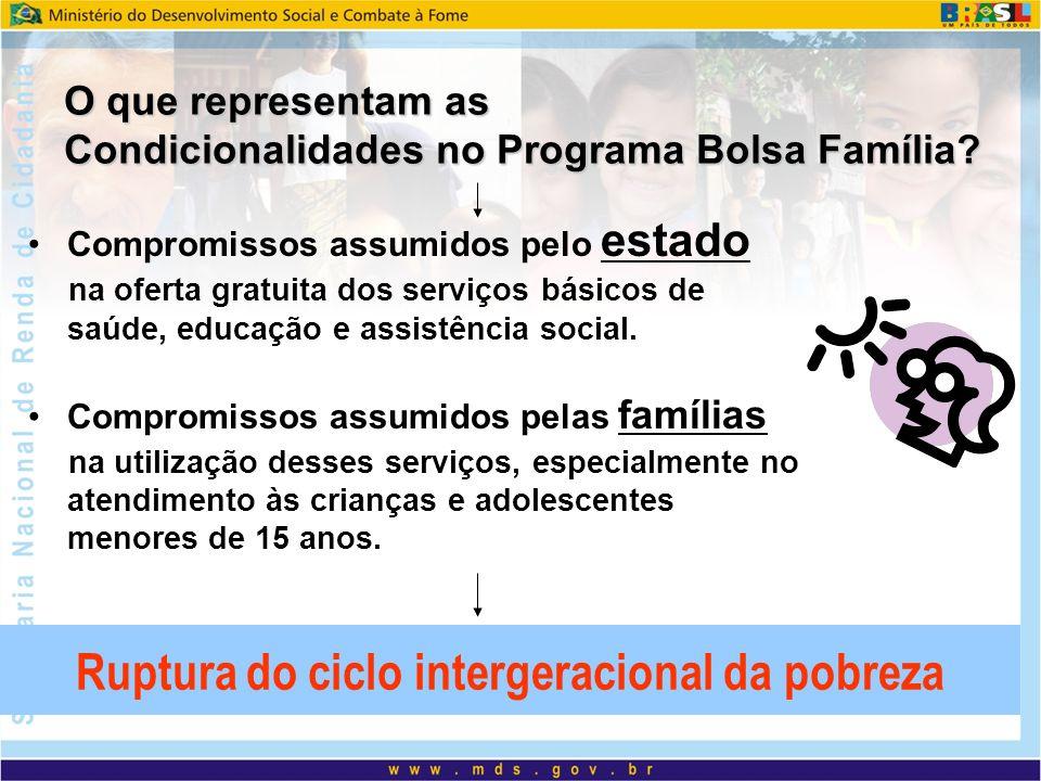 Bolsa Família e Educação Forte contribuição do Bolsa Família na permanência das crianças e adolescentes até 15 anos na escola.