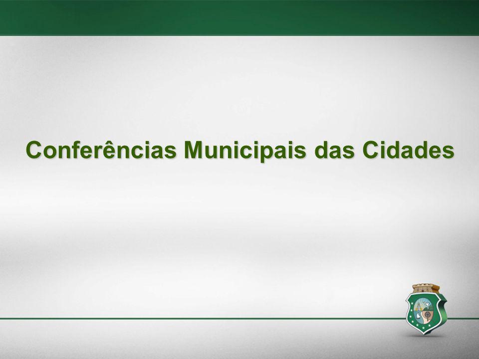 A partir de 2015, os Municípios só poderão participar de editais coordenados pelo Ministério das Cidades, e receber recursos do Fundo Nacional de Desenvolvimento Urbano – FNDU, se tiverem instituídos em funcionamento o Conselho Municipal das Cidades !!!!.