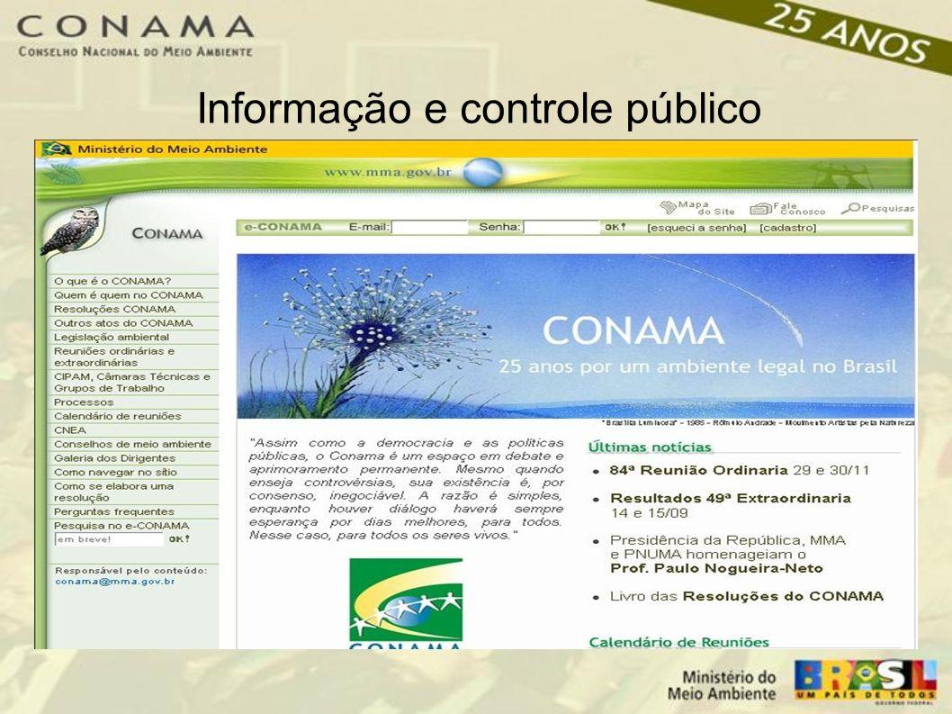 Informação e controle público