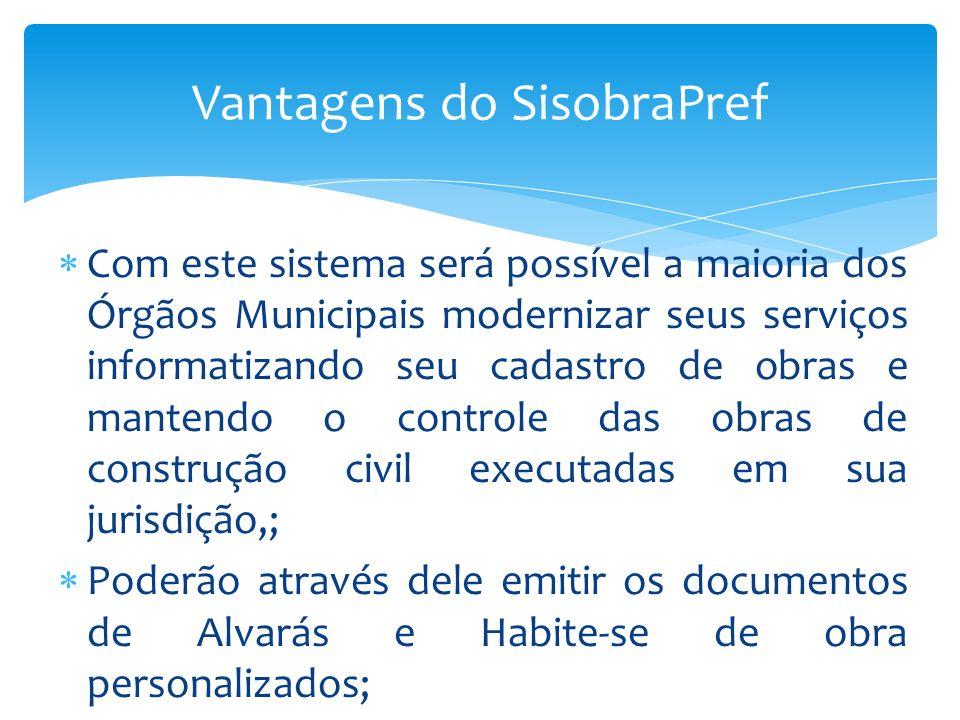 Gabaritos e Marcadores A aba Gabarito e Marcadores servem para criar modelo de Alvará e Habite-se, de acordo com as especificidades de cada órgão.