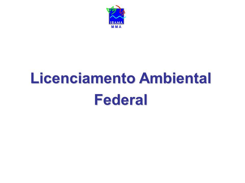 M M A Licenciamento Ambiental Federal M M A