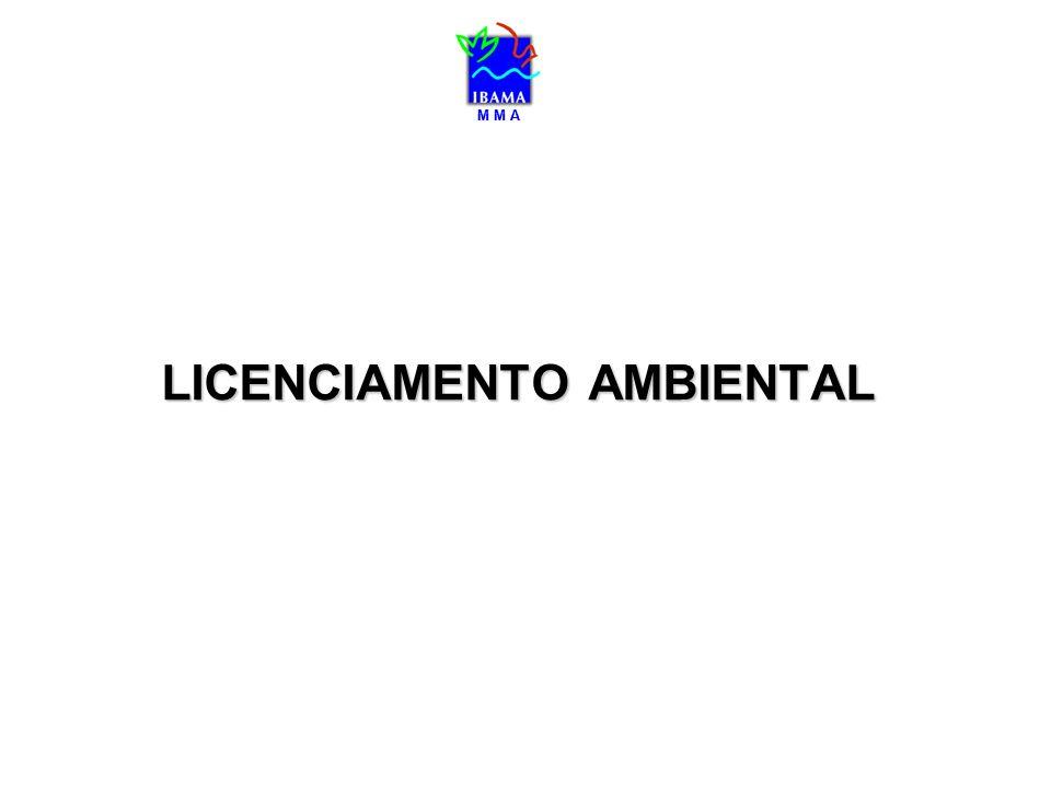 M M A Estruturação da Agenda para o Licenciamento de infra-estrutura no Brasil Incorporação da variável ambiental no processo de definição da agenda prioritária do Governo para infra-estrutura.