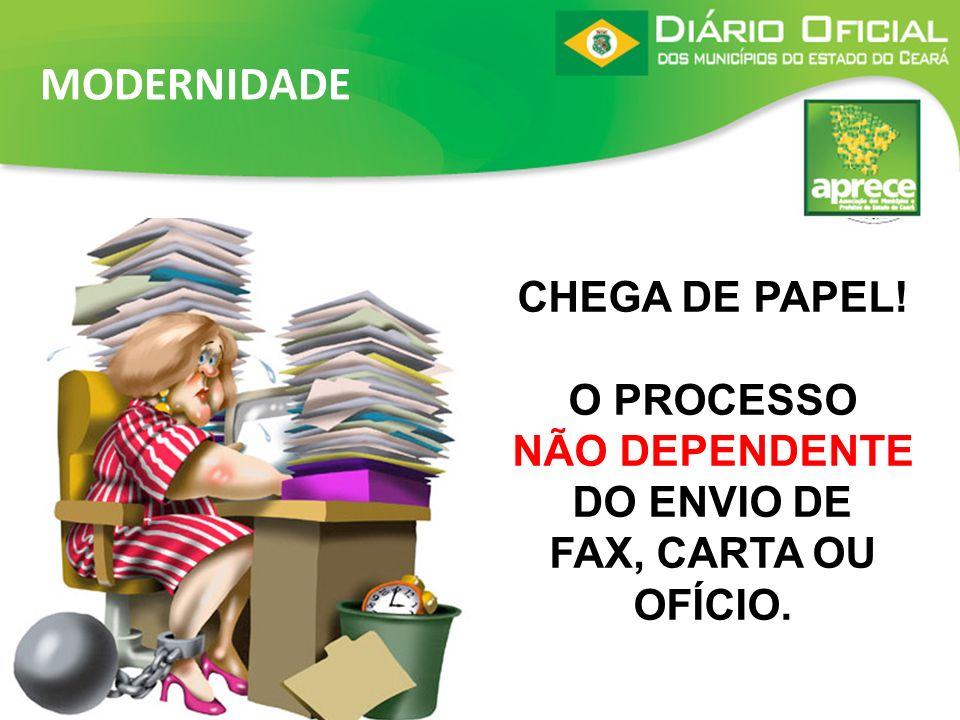 Cadastramento e publicação das matérias feitos diretamente no municípios, via internet; Autonomia para demais Órgãos dos Municípios publicarem.