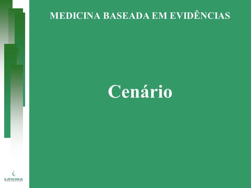 Passos para a prática de MBE CENÁRIO CLÍNICO Pergunta Informação BUSCA DA INFORMAÇÃO Identificação Seleção AVALIAR CRITICAMENTE Validade, Significância,Aplicabilidade SÍNTESE DA INFORMAÇÃO Força da evidência RESOLUÇÃO DO CENÁRIO Aplicação dos resultados