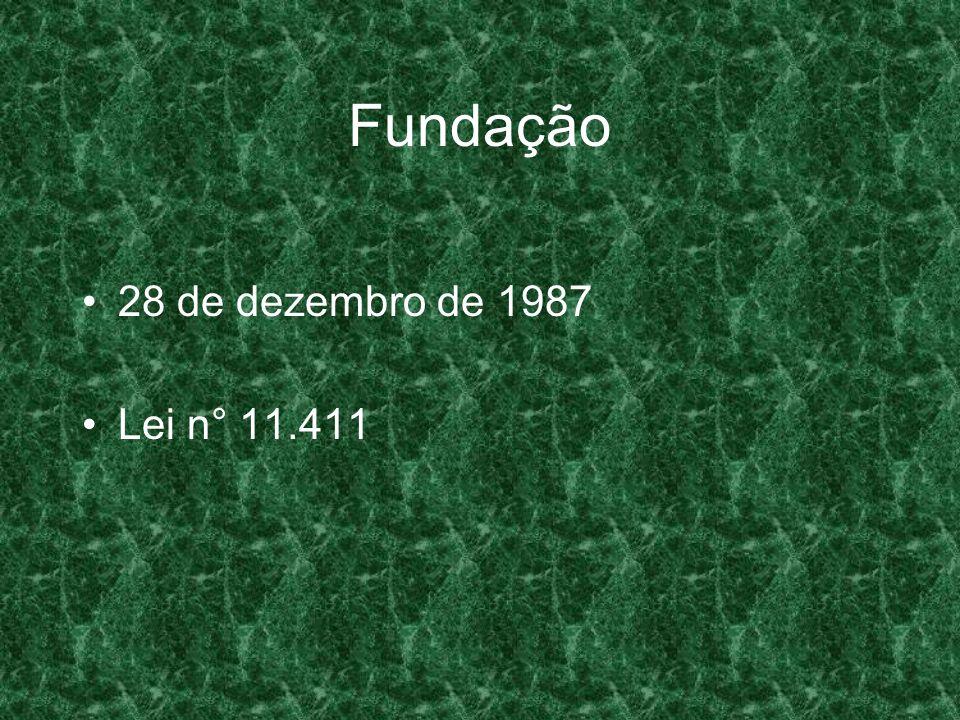 Fundação 28 de dezembro de 1987 Lei n° 11.411