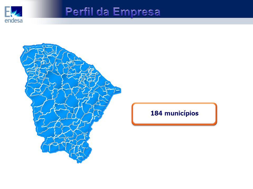 184 municípios