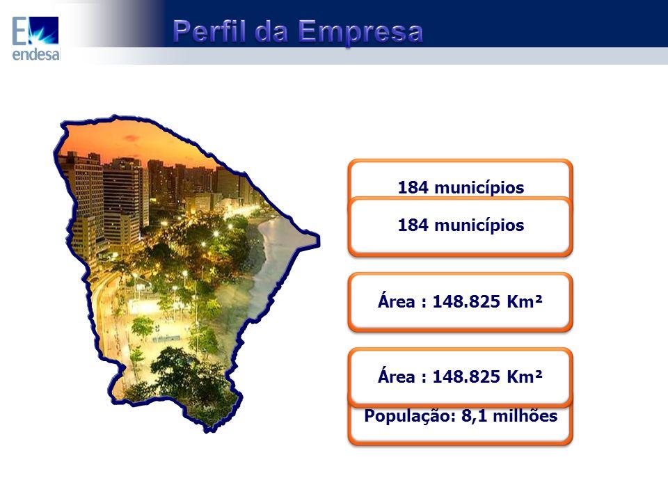 Área : 148.825 Km² 184 municípios População: 8,1 milhões Área : 148.825 Km² 184 municípios