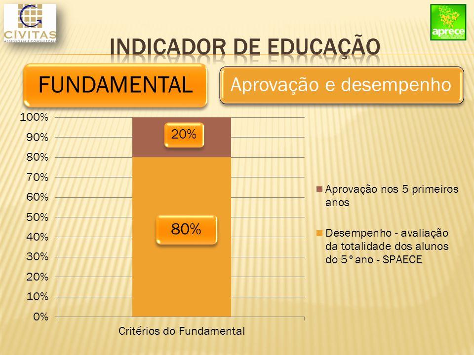 FUNDAMENTAL Aprovação e desempenho 80% 20%