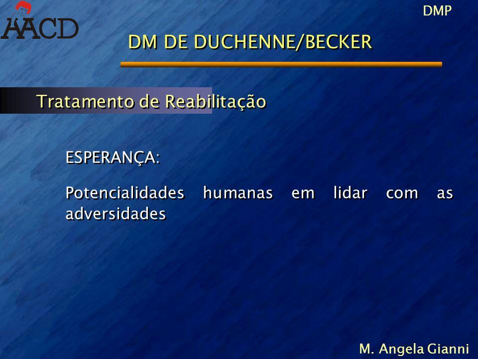 DMP M. Angela Gianni ESPERANÇA: Potencialidades humanas em lidar com as adversidades ESPERANÇA: Potencialidades humanas em lidar com as adversidades T