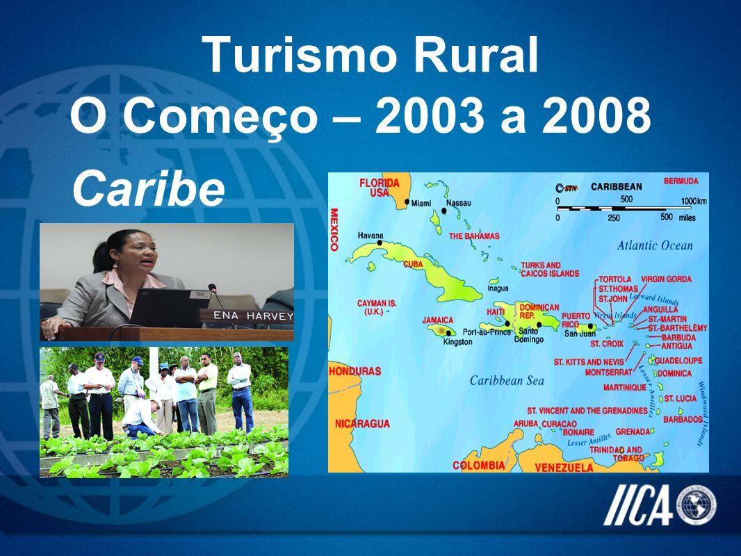 O Começo – 2003 a 2008 Caribe