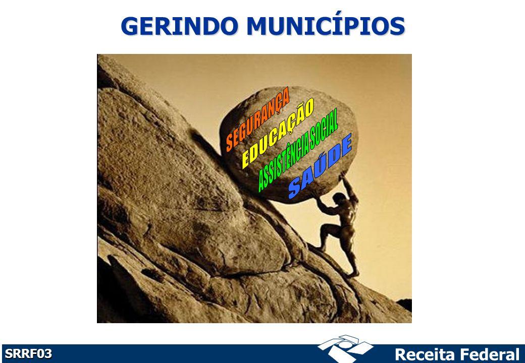 Receita Federal SRRF03 GERINDO MUNICÍPIOS