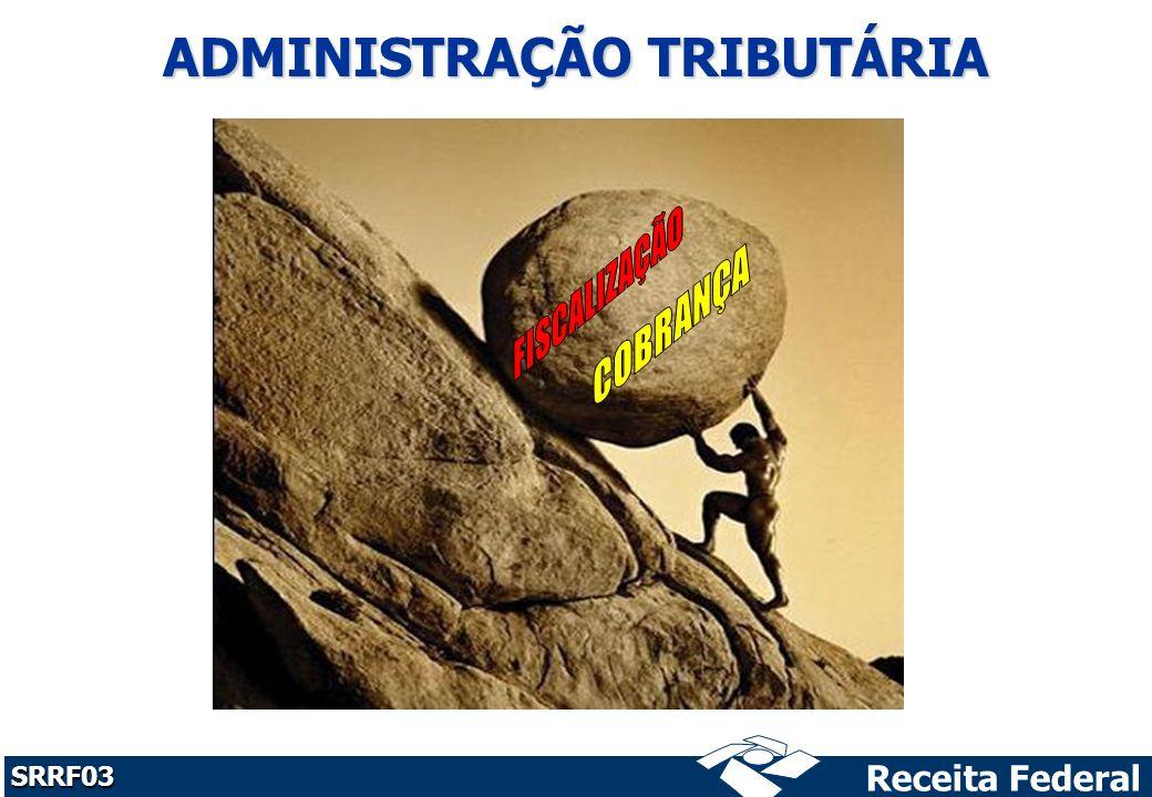 Receita Federal SRRF03 ADMINISTRAÇÃO TRIBUTÁRIA