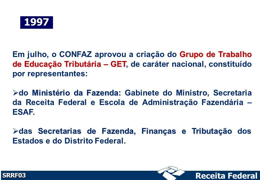 Receita Federal SRRF03 julho, com o dos recursos públicos.