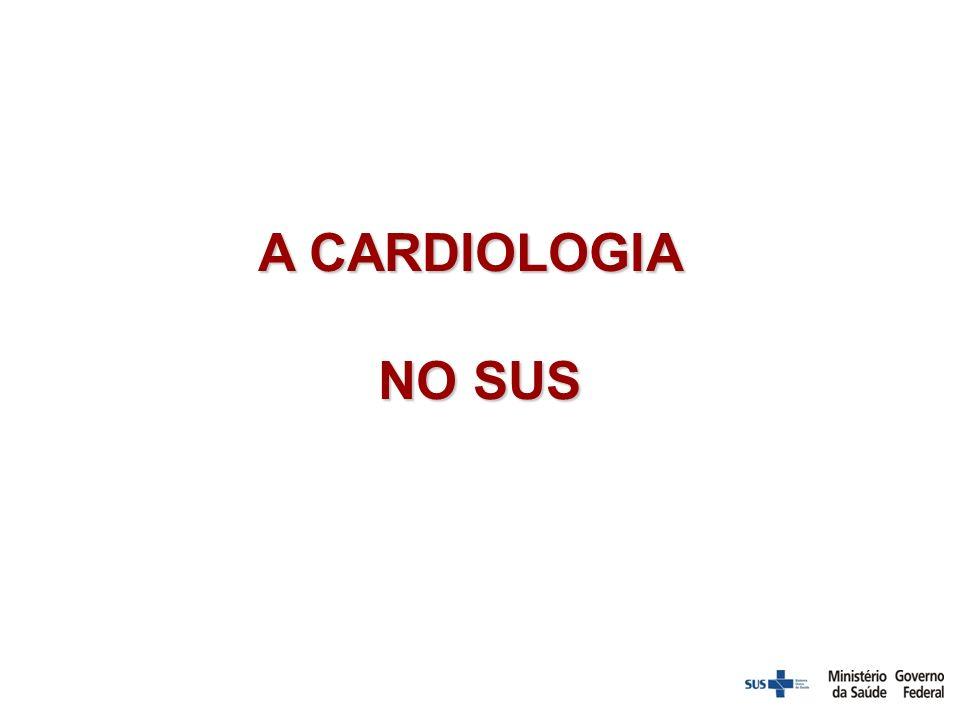 A CARDIOLOGIA NO SUS