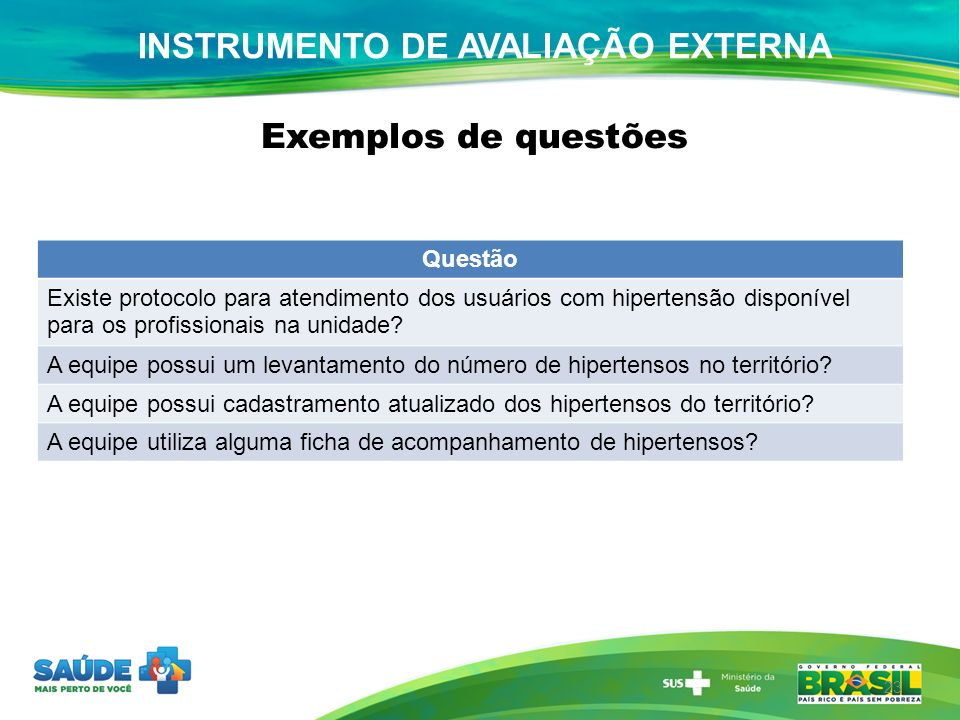 23 Questão Existe protocolo para atendimento dos usuários com hipertensão disponível para os profissionais na unidade? A equipe possui um levantamento