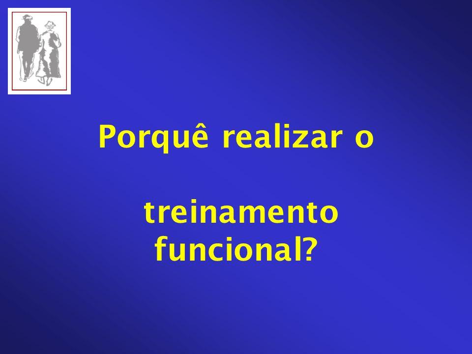 Porquê realizar o treinamento funcional?