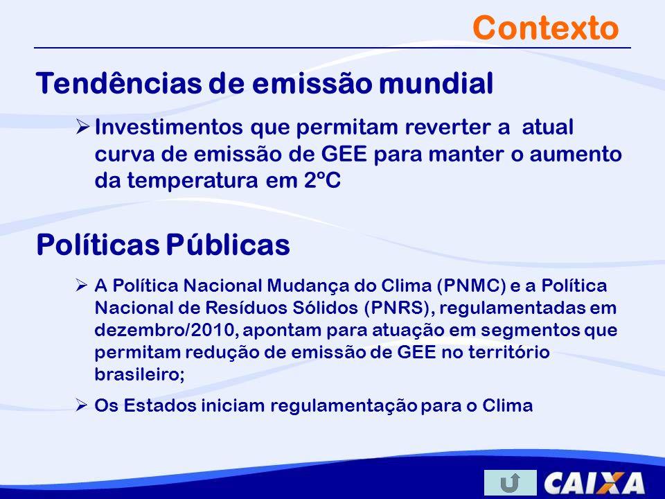 Estrat é gia CAIXA no Mercado de Carbono Integra linhas de crédito e acesso ao Mercado de Carbono Novo modelo de negócio que agrega a RCE como garantia acessória do financiamento