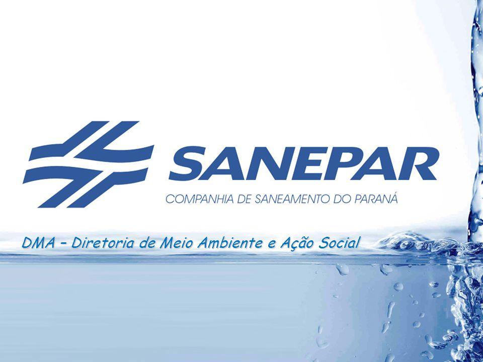 Inventário GEE na Sanepar Redução GEE 42 Ligações Irregulares + Perdas Índice de Perdas por Ligação ( Litros/ligação/dia)