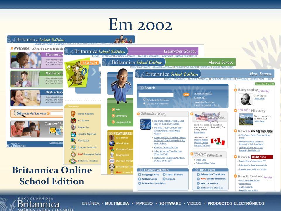 Em 2002 Britannica Online School Edition