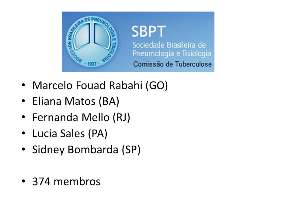 Marcelo Fouad Rabahi (GO) Eliana Matos (BA) Fernanda Mello (RJ) Lucia Sales (PA) Sidney Bombarda (SP) 374 membros
