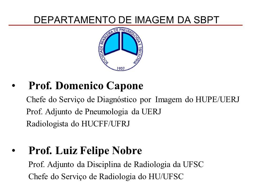 DEPARTAMENTO DE IMAGEM DA SBPT Prof.