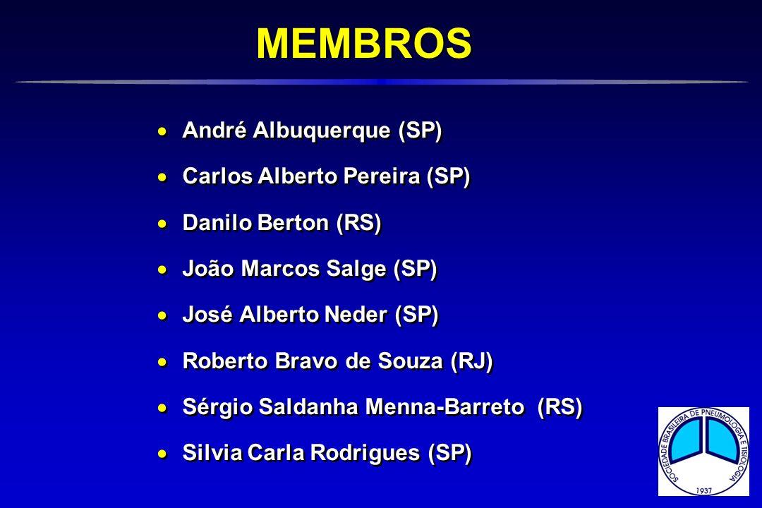 André Albuquerque (SP) Carlos Alberto Pereira (SP) Danilo Berton (RS) João Marcos Salge (SP) José Alberto Neder (SP) Roberto Bravo de Souza (RJ) Sérgi