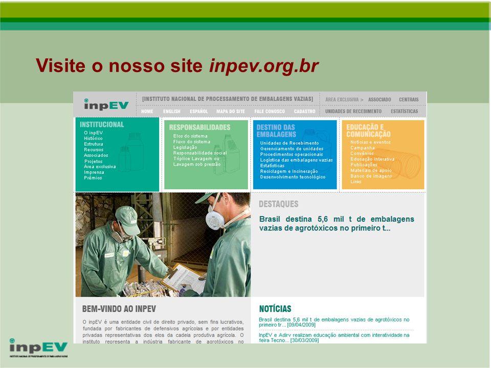 Visite o nosso site inpev.org.br