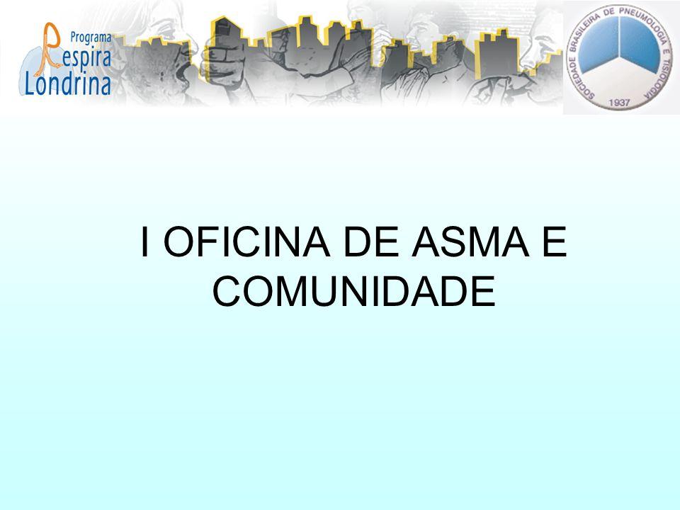 I OFICINA DE ASMA E COMUNIDADE