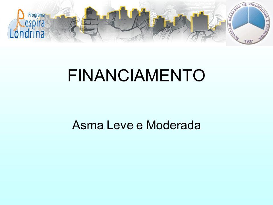 FINANCIAMENTO Asma Leve e Moderada