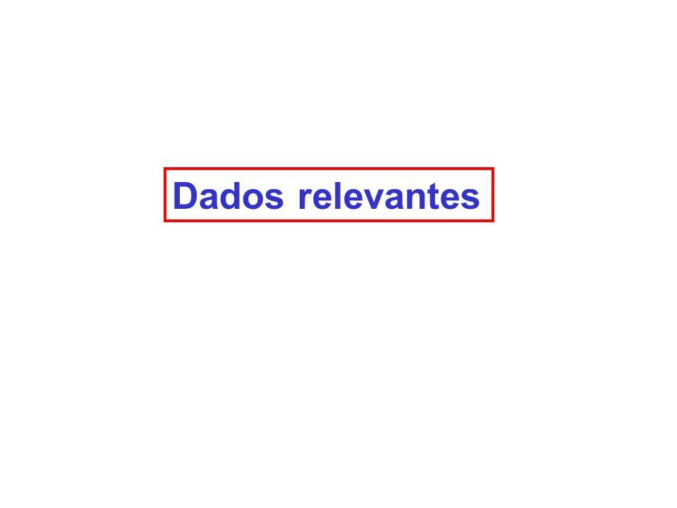 Dados relevantes