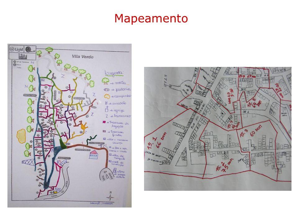Detailed map Mapeamento