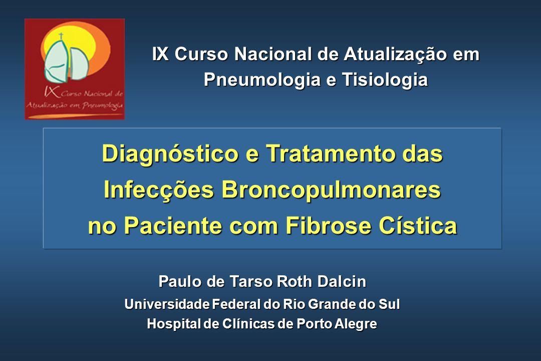 Erradicação Precoce da P.aeruginosa (1) A presença de P.
