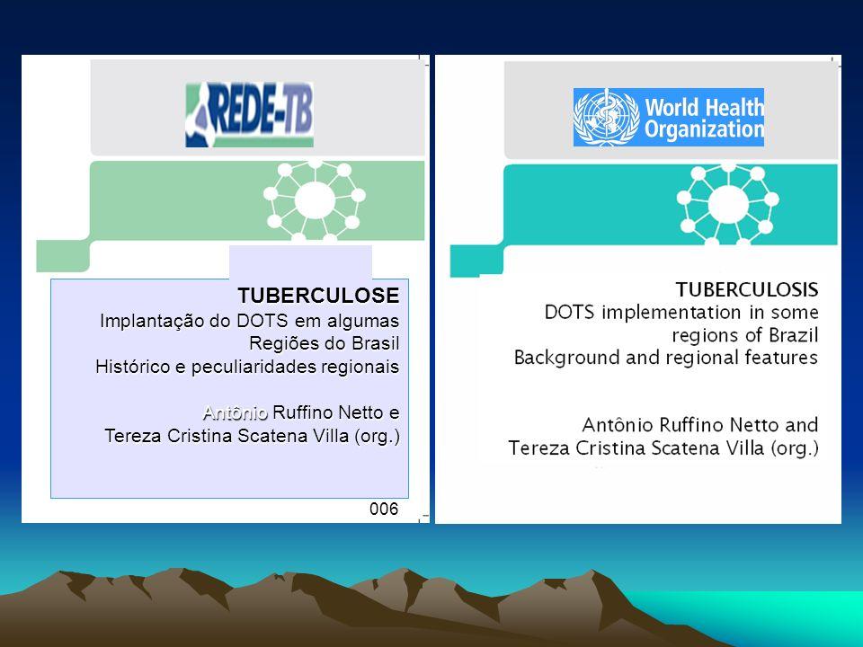 TUBERCULOSE Implantação do DOTS em algumas Regiões do Brasil Histórico e peculiaridades regionais Antônio Ruffino Netto e Tereza Cristina Scatena Vill