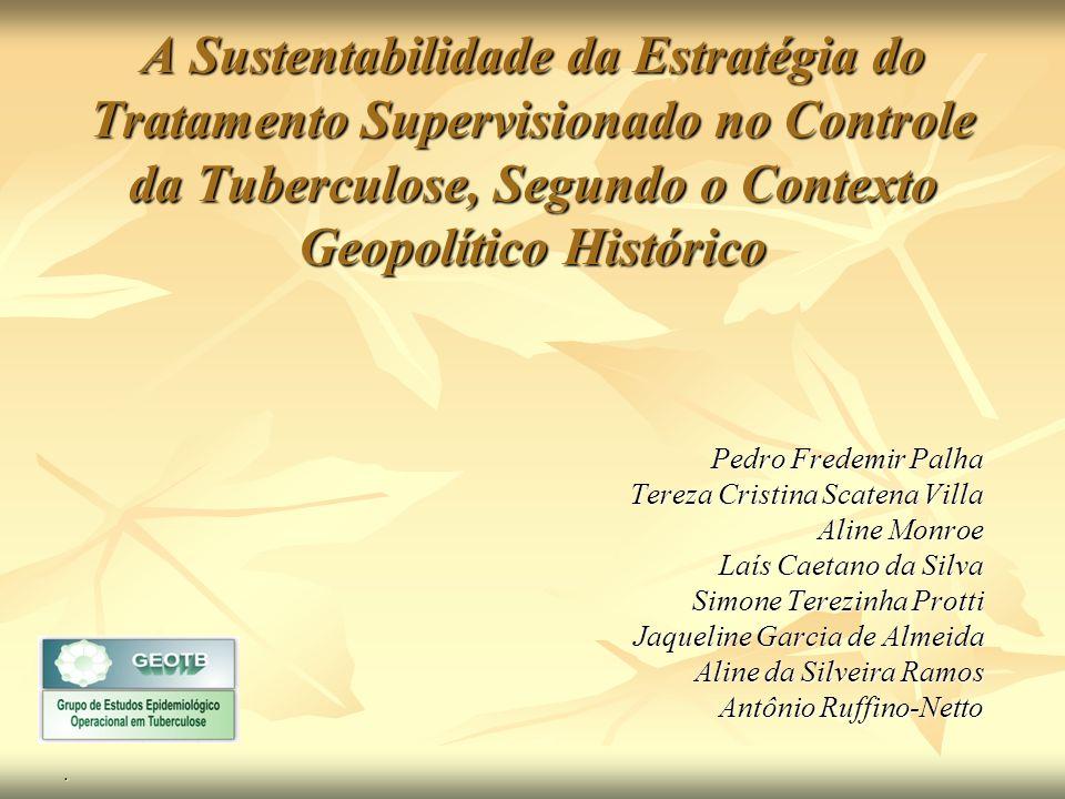 A ÓTICA DO GESTOR Maria de Lourdes Sperli Geraldes dos Santos DOTS: Gerência das ações de controle da tuberculose no interior paulista; Aline Aparecida Monroe.